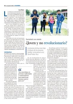 GACETA UNAM SOBRE CONFERENCIA SE PUEDE SER JOVEN Y NO SER REVOLUCIONARIO
