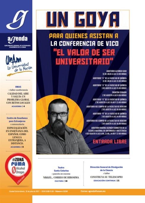PORTADA AGENDA UNAM